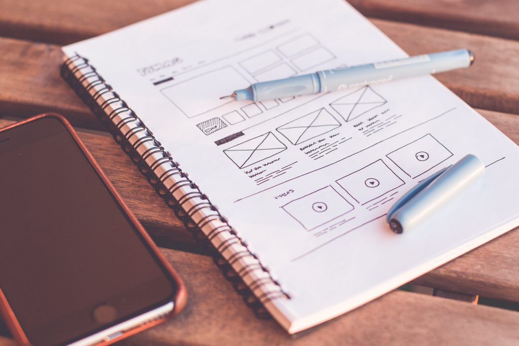 UX design et wireframe